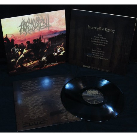 "Arghoslent ""Incorrigible Bigotry"" LP"