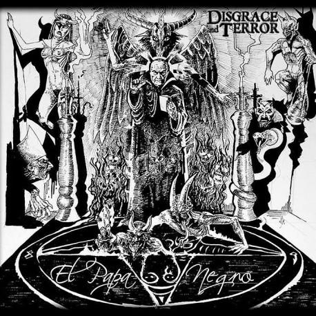 """Disgrace And Terror """"El Papa Negro"""" Digipack CD"""