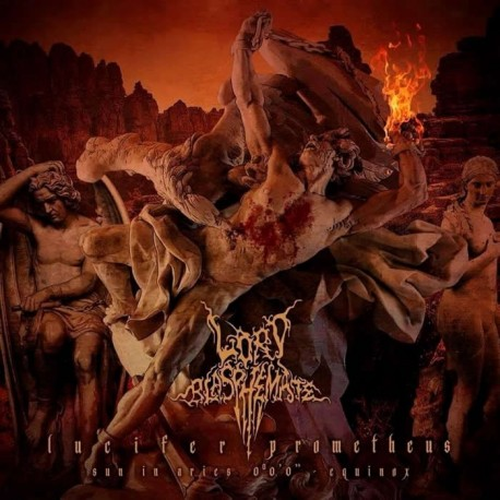 "Lord Blasphemate ""Lucifer Prometheus"" Digipack CD"