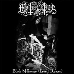 """Mütiilation """"Black Millenium (Grimly Reborn)"""" LP (White)"""