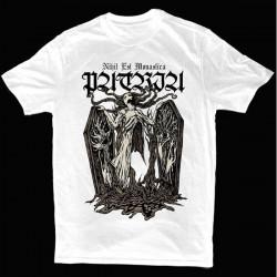 """Patria """"Nihil Est Monastica"""" Camiseta Branca"""