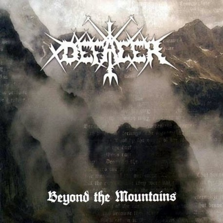 "Defacer ""Beyond the Mountains"" CD"