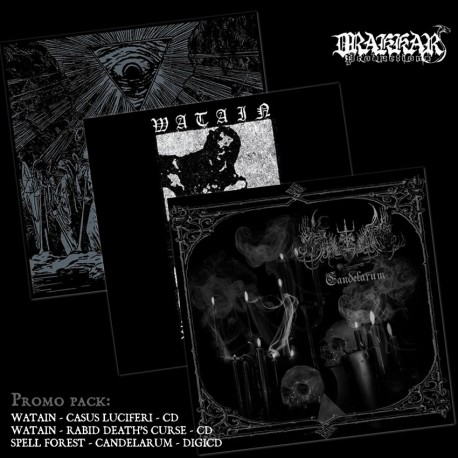 Watain / Spell Forest - Promo pack 3 CDs