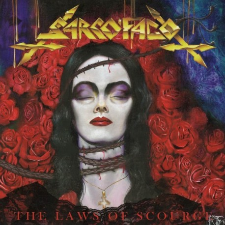 """Sarcófago """"The Laws of Scourge"""" CD"""