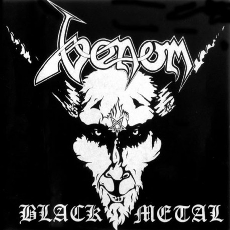 "Venom ""Black Metal"" CD"