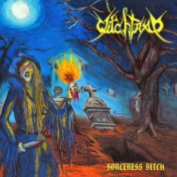 "Witchtrap ""Sorceress Bitch"" CD"