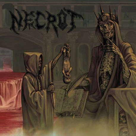 """Necrot """"Blood Offerings"""" CD"""