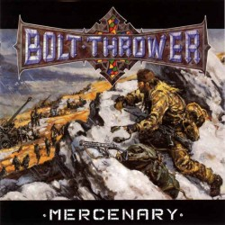 "Bolt Thrower ""Mercenary"" CD"