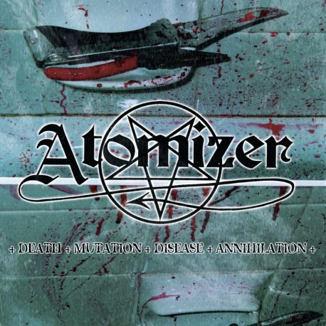 "Atomizer ""Death - Mutation - Disease - Annihilation"" Slipcase CD"