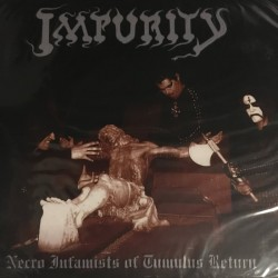 "Impurity ""Necro Infamists of Tumulus Return"" Digipack CD"