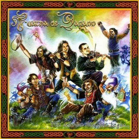 "Tuatha de Danann ""The Delirium Has Just Begun"" Digipack CD + bonus"