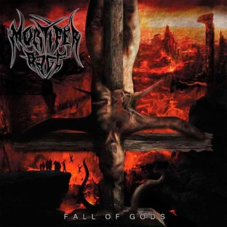 "Mortifer Rage ""Fall of Gods"" CD"
