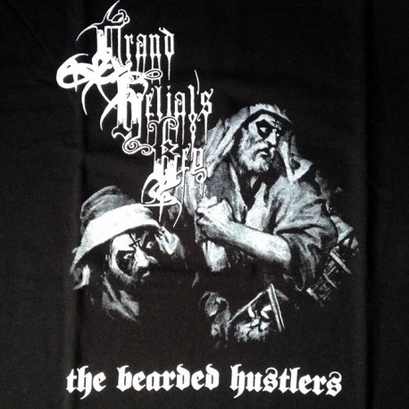 "Grand Belial's Key ""The Bearded Hustlers"" Official T-shirt"