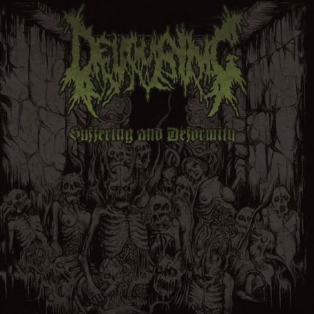 "Devouring ""Suffering and Deformity"" CD"