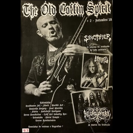 The Old Coffin Spirit Fanzine - Ed. 2 (Setembro'18)
