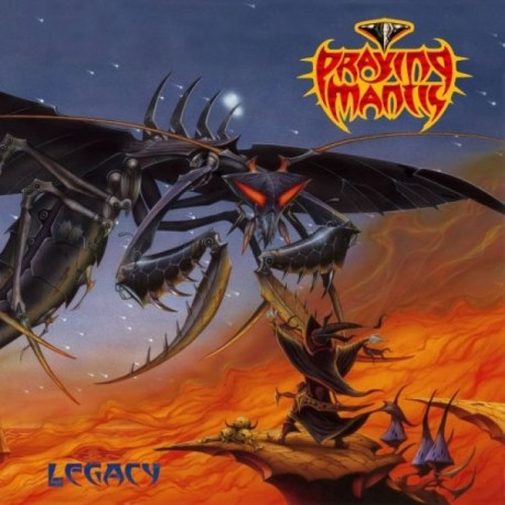 "Praying Mantis ""Legacy"" CD"