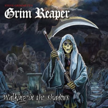 "Grim Reaper ""Walking In The Shadows"" CD"