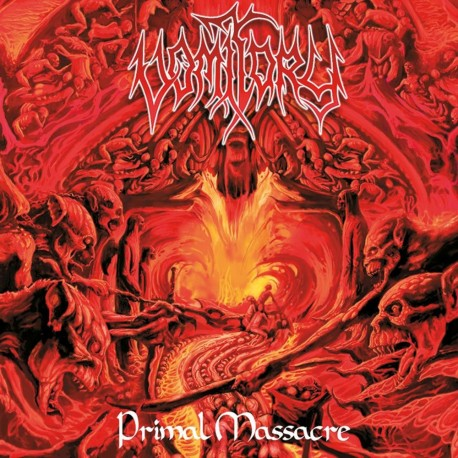"Vomitory ""Primal Massacre"" CD"
