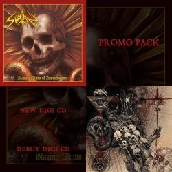 "[PRE VENDA] Svatan - Promo pack 2 CDs ""Blazing Winds... + Awakening of the Mighty..."""
