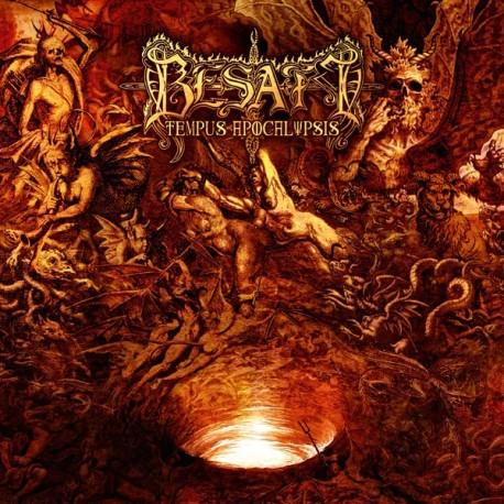 """Besatt """"Tempus Apocalypsis"""" Digipack CD"""