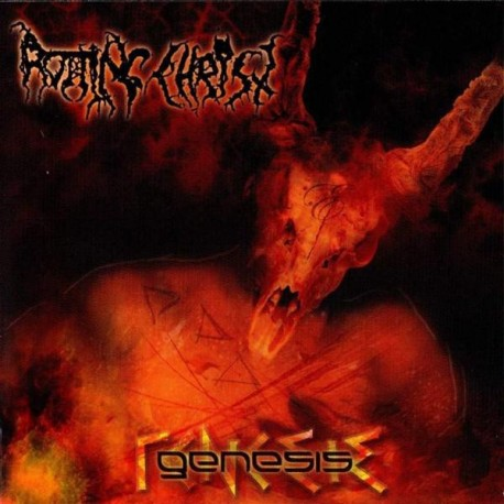 "Rotting Christ ""Genesis"" Slipcase CD + bonus"