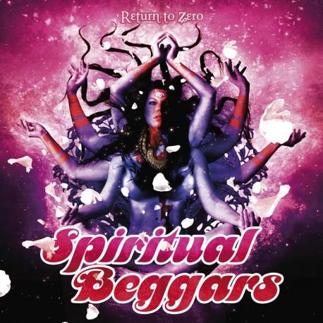 """Spiritual Beggars """"Return To Zero"""" CD"""
