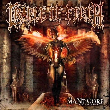 "Cradle of Filth ""The Manticore and Other Horrors"" CD"