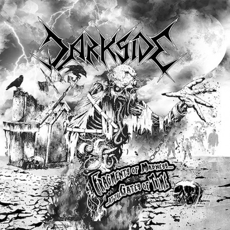 "Darksyde ""Fragments of Madness... At the gates of times..."" CD"