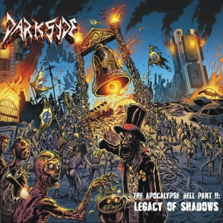 """Darksyde """"The Apocalypse Bell Part II - Legacy of Shadows"""" CD"""