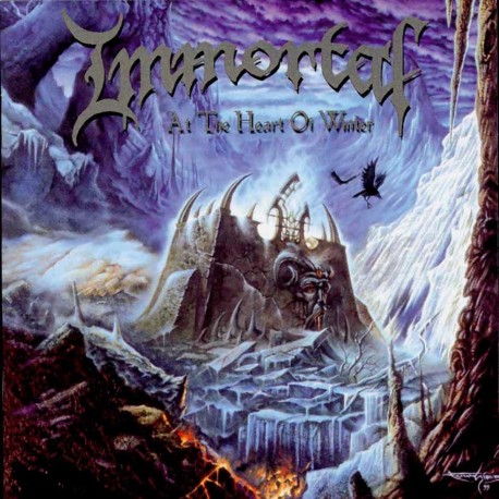 "Immortal ""At the Heart of Winter"" CD"