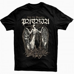 """Patria """"Nihil Est Monastica"""" Camiseta Preta"""