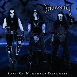 "Immortal ""Sons of Northern Darkness"" Slipcase CD + Poster"