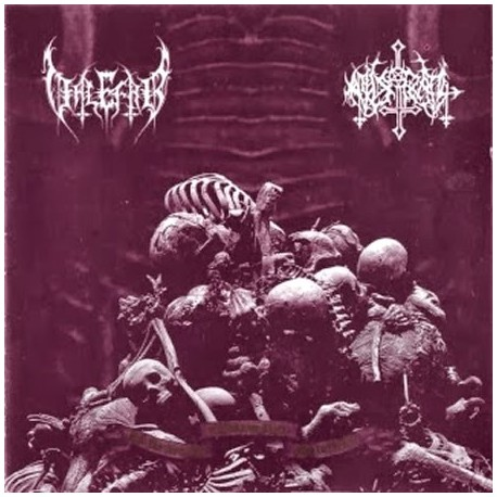 """Valefar/Austral """"...And the New Age of Darkness Shall Rise in Hate"""" Split CD"""
