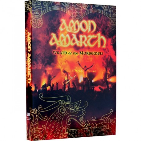 "Amon Amarth ""Wrath of the Norsemen"" Digipack 3 DVD"