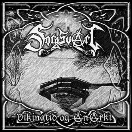 "Sorgsvart ""Vikingtid og Anarki"" CD"