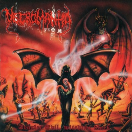 "Necromantia ""Scarlet Evil Witching Black"" CD"