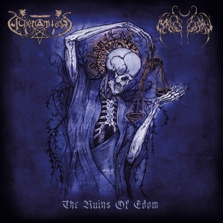 "Acherontas / Nightbringer ""The Ruins of Edom"" Digipack CD"