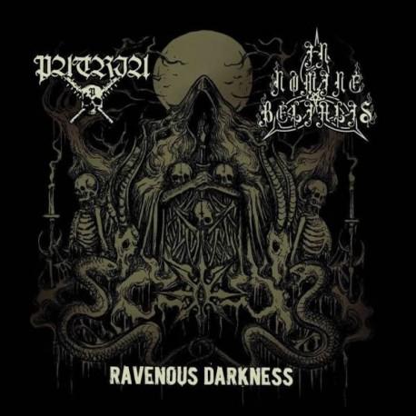 """Patria / In Nomine Belialis """"Ravenous Darkness"""" Split CD"""
