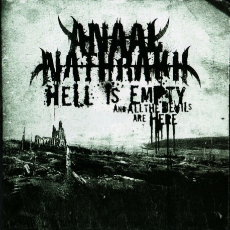 "Anaal Nathrakh ""Hell Is Empty, And All The Devils are Here"" CD"