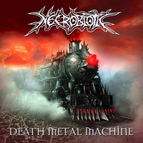 "Necrobiotic ""Death Metal Machine"" CD"