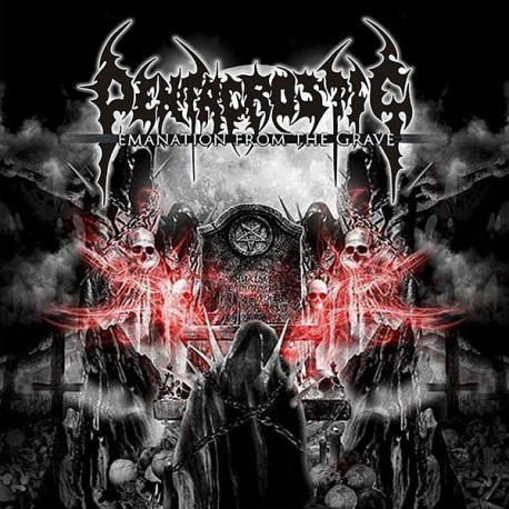 """Pentacrostic """"Emanation from the Grave"""" CD"""