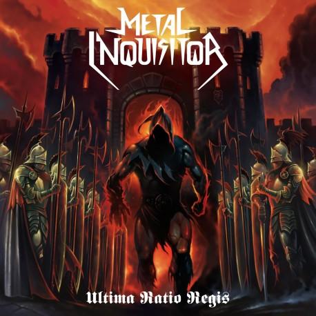 """Metal Inquisitor """"Ultima Ratio Regis"""" CD"""