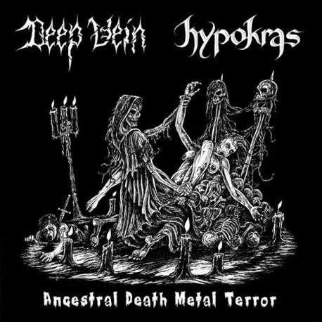 "Deep Vein/Hypokras ""Ancestral Death Metal Terror"" Split CD"