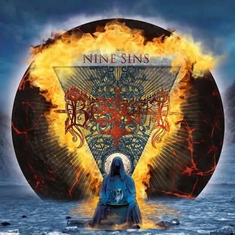 """Besatt """"Nine Sins"""" CD"""