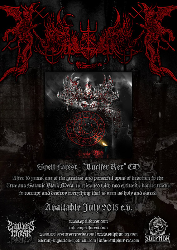 Spell Forest Lucifer Rex CD