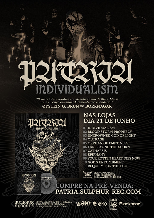 PATRIA Individualism CD
