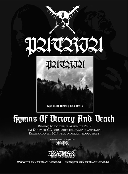 Patria Hymns of Victory and Death Digipack 2014