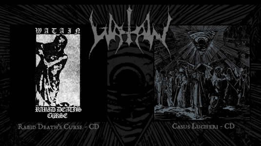 Watain releases