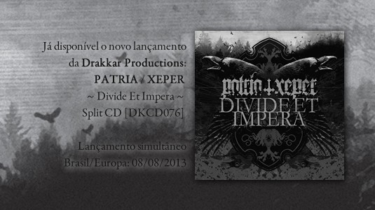 Patria/Xeper - split CD